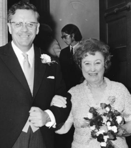 Bailey and Ritchie on their wedding day, July 28, 1971