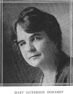 Mary Dickerson Donahey 1925-1927 president